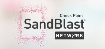 Check Point SandBlast Network : Détecte et bloque les logiciels malveillants inconnus