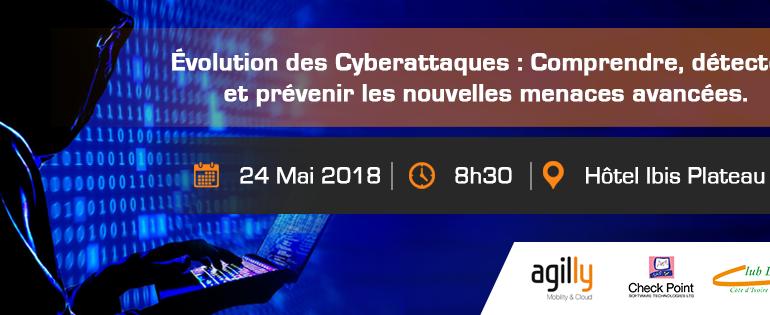 AGILLY Cyber Security Conference, Jeudi 24 Mai 2018 à 8h30, Hôtel Ibis Plateau